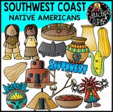 Southwest Native Americans Clip Art Bundle {Educlips Clipart}