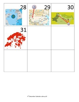 South and East Asia Calendar Pieces