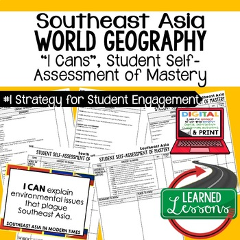 Southeast Asia Geography I Cans, Self-Assessment of Mastery
