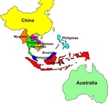 Southeast Asia Labeling Puzzle Map