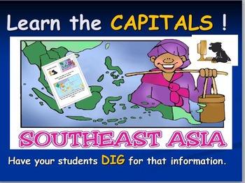 Southeast Asia Map Activities