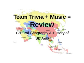 Map Of Asia Review Game.Southeast Asia Trivia Review Game By Miss Mac S Class Teachers Pay