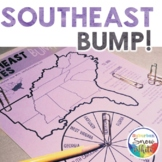 The 5 Regions of the United States GAMES: The SOUTHEAST  