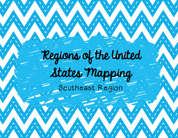 Southeast Mapping Activity