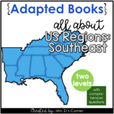 Southeast Region Adapted Books [ Level 1 and Level 2 ] | U