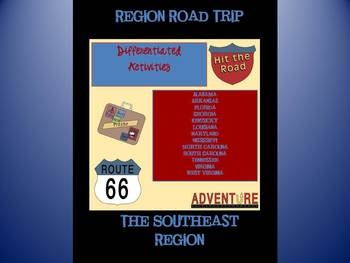 Southeast Region Differentiated State Activities