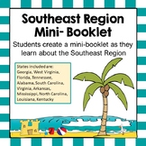 Southeast Region Unit Activity Booklet or Interactive Notebook Lesson Worksheets