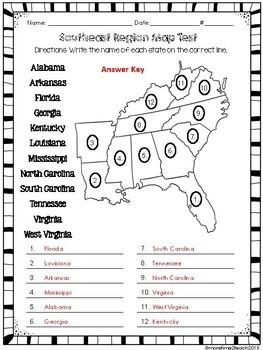 Southeast Region Unit {1 of 5 US Regions}