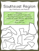 Southeast Region of the United States Interactive Notebook, Reading Passages