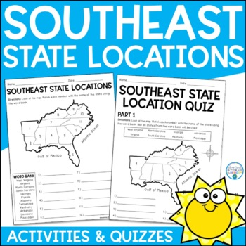 Southeast State Locations