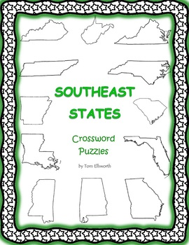 Southeast States Crossword Puzzles