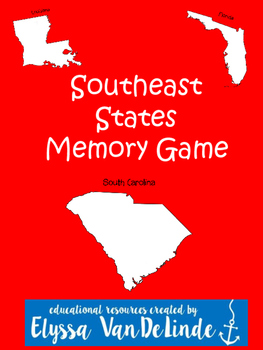southeast states and capitals memory game southeast states and capitals memory game