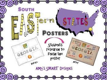 Southeast US Region Posters