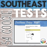 Southeast United States Capitals Tests Quizzes for Google