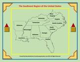 Southeast United States Region Interactive Notebooks Bundle