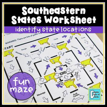 Southeastern States Maze