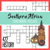 Southern Africa Crossword Puzzles