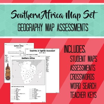 Southern Africa Map Set