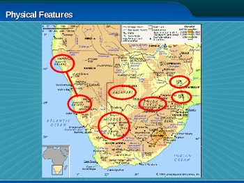 Southern Africa Physical Geography (PowerPoint)