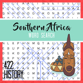 Southern Africa Word Search