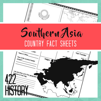 Southern Asia Country Fact Sheets