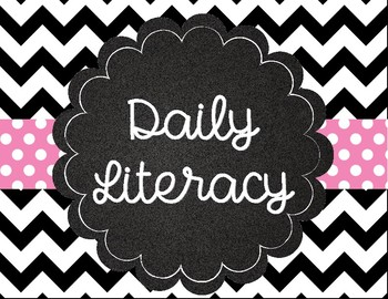 Southern Charm Daily Literacy Signs