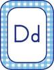 Southern Charm Manuscript Alphabet Cards