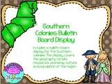Southern Colonies Bulletin Board Display