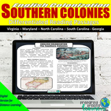 Southern Colonies Differentiated Reading Passages