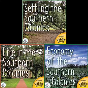 Southern Colonies US History Unit Bundle