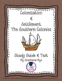 Southern Colonies Unit Study Guide and Test