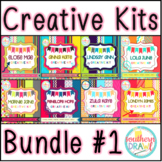 Southern Drawl Creative Kits BUNDLE #1 (Digital Papers and