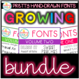 Southern Drawl Fonts Bundle