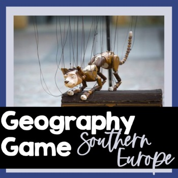 Southern Europe Fun Facts Game, PowerPoint, Maps