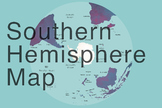 Southern Hemisphere Map