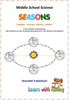 Southern Hemisphere Seasons - MS Science