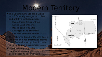 Southern Paiute Tribes Presentation
