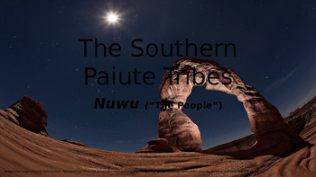 Southern Paiute Tribes Presentation