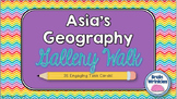 Southern and Eastern Asia -- Gallery Walk (Task Cards)