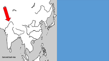 Southern and Eastern Asia Map Reveal