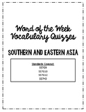 Southern and Eastern Asia Word of the Week Vocabulary Quiz