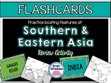 Southern and Eastern Asia's Geography FLASHCARDS