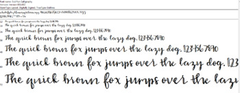 Southernsuedesigns Fun Calligraphy Font