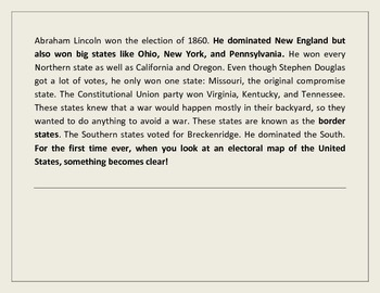 South's Secessionitis: The Confederacy