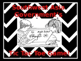 Southwest Asia Government's Tic Tac Toe Review Game!