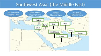 Southwest Asia (Middle East)--Interactive PowerPoint