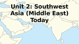 Southwest Asia (Middle East) Today