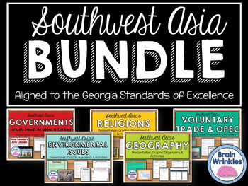 Southwest Asia (Middle East) Unit BUNDLE