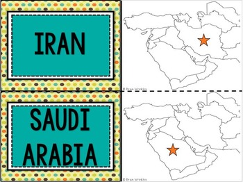 Southwest Asia's Geography FLASHCARDS