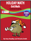 Holiday Math Activity–Mystery Puzzle, Christmas Math Coordinate Graphing Picture